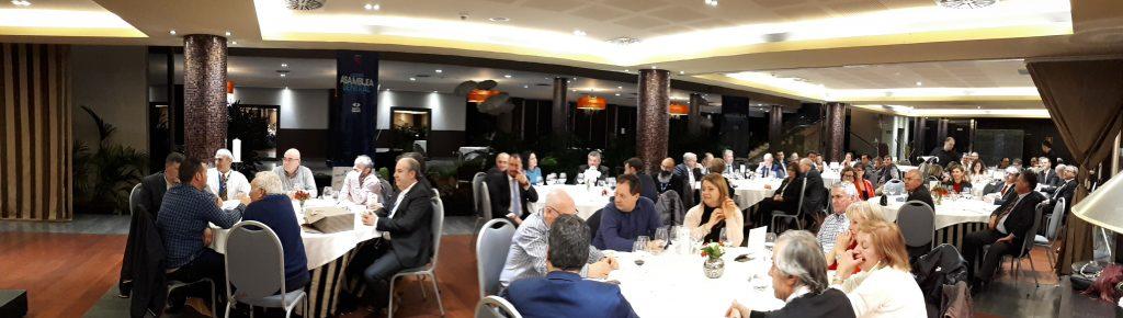Brindando juntos por el 40 Aniversario 6 Más de 70 profesionales, invitados y representantes de la administración regional, encabezados por el Consejero de Empleo, Industria y Turismo, del Princip