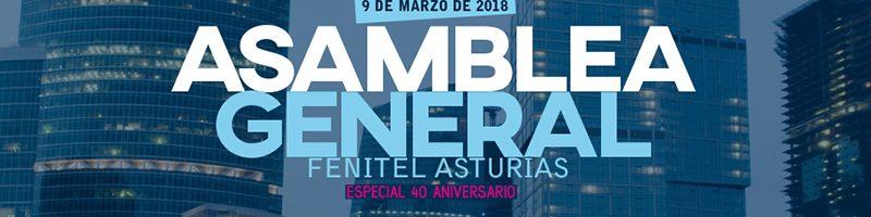 Programa de la Asamblea General de Fenitel Asturias 2018 10 ORDEN DEL DÍA 18:00 horas Asamblea General Ordinaria 2018 (solo asociados de Fenitel Asturias) Lectura y en su caso aprobación del Acta anterior. Informe d