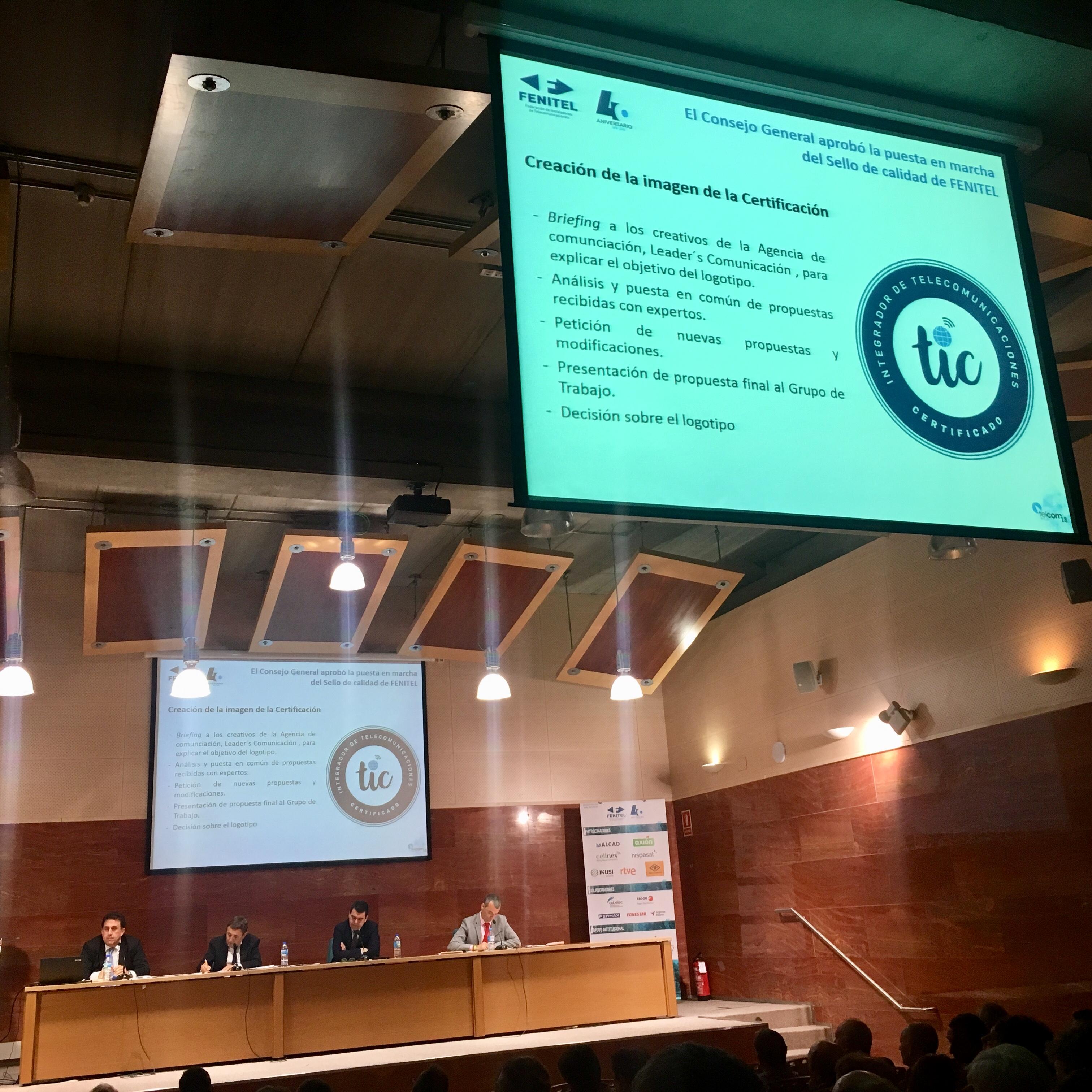 Amplia participación asturiana en el 40 Aniversario de FENITEL 8 Durante los días 21 y 22 de junio, una amplia delegación de Fenitel Asturias participó en la Asamblea General de nuestra Federación Nacional, FENITEL, así