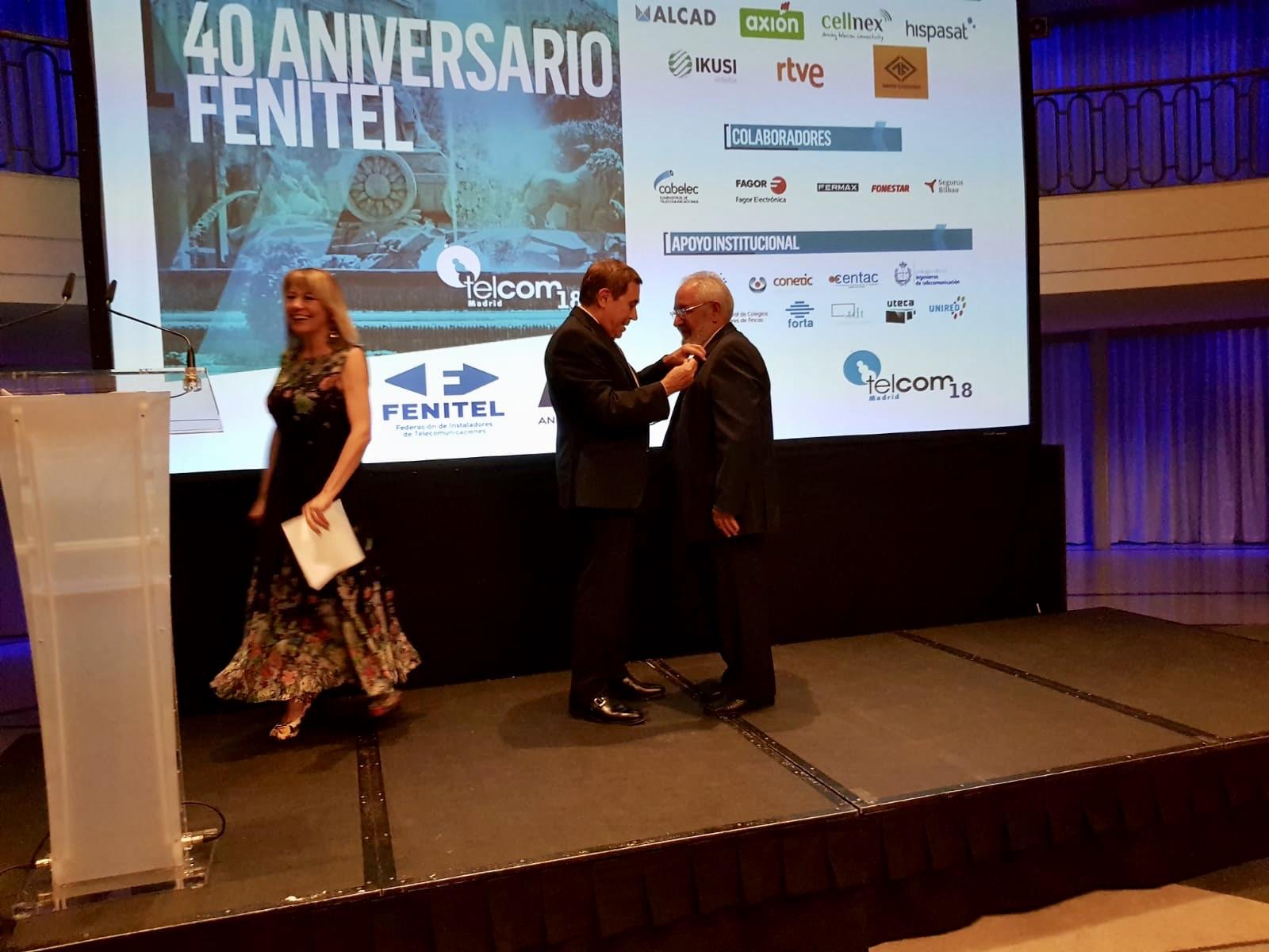 Amplia participación asturiana en el 40 Aniversario de FENITEL 3 Durante los días 21 y 22 de junio, una amplia delegación de Fenitel Asturias participó en la Asamblea General de nuestra Federación Nacional, FENITEL, así