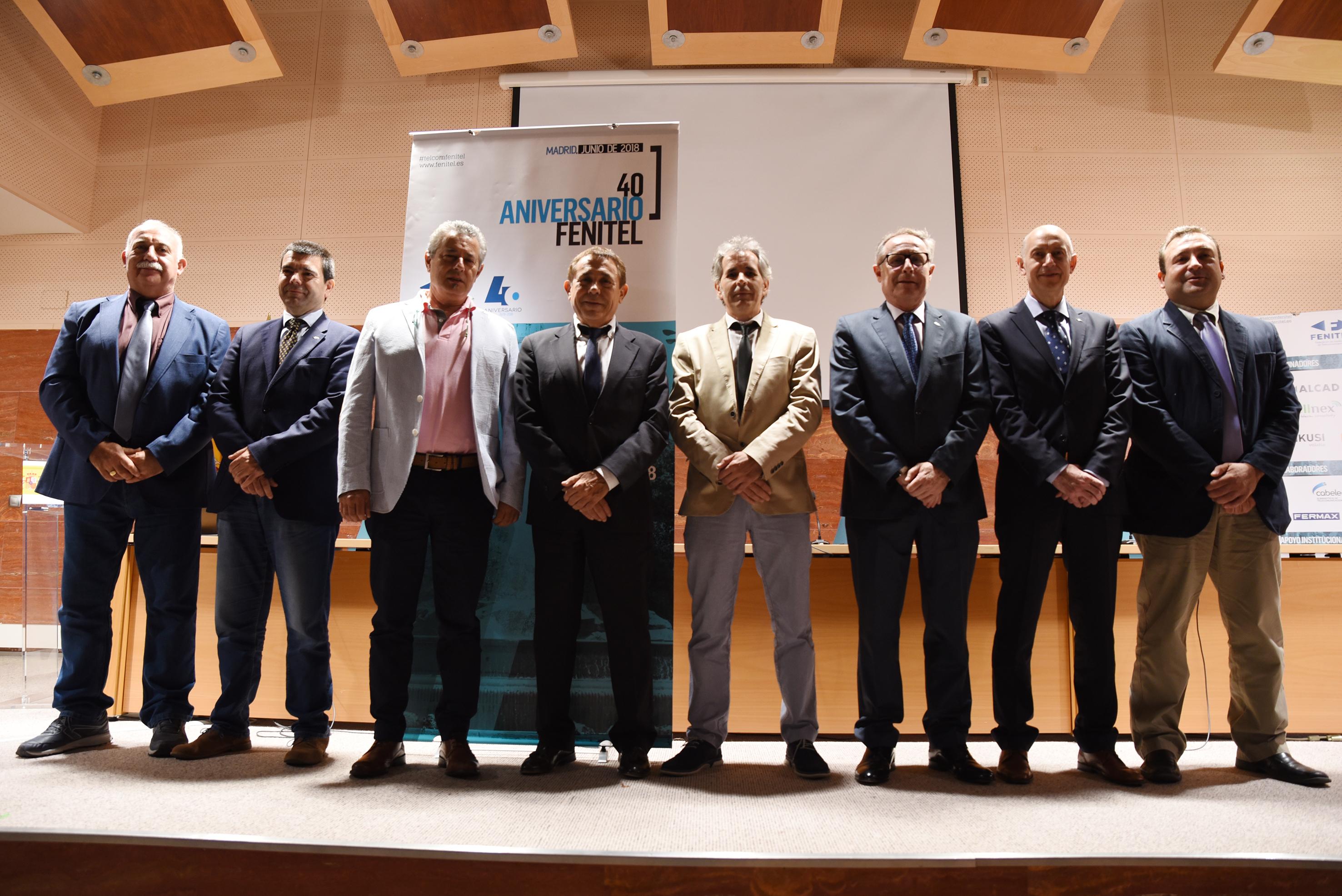 Amplia participación asturiana en el 40 Aniversario de FENITEL 1 Durante los días 21 y 22 de junio, una amplia delegación de Fenitel Asturias participó en la Asamblea General de nuestra Federación Nacional, FENITEL, así