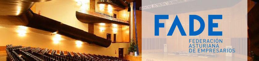 FADE presentará su documento de Propuestas de Futuro en un acto multitudinario en Oviedo 16 Viernes, 23 de noviembre en la sala de cámara del Auditorio. El viernes, día 23 de noviembre, a las 12:00 horas, en la sala de cámara del Auditorio Príncip