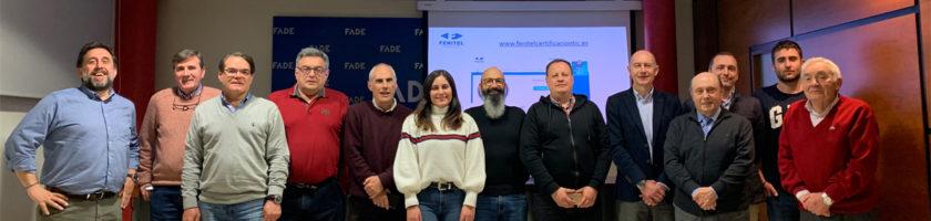 Nuevos servicios y proyectos de futuro para nuestros asociados en 2019 9 Los nuevos servicios y ventajas para los asociados de Fenitel Asturias y el diseño de nuevas fórmulas de éxito empresarial para el sector, fueron los prota