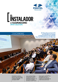 """Medios de comunicación 1 Los socios de Fenitel Asturias tienen acceso a los siguientes servicios: » Revista """"El instalador de telecomunicaciones"""" de forma trimestral » Servicio de"""