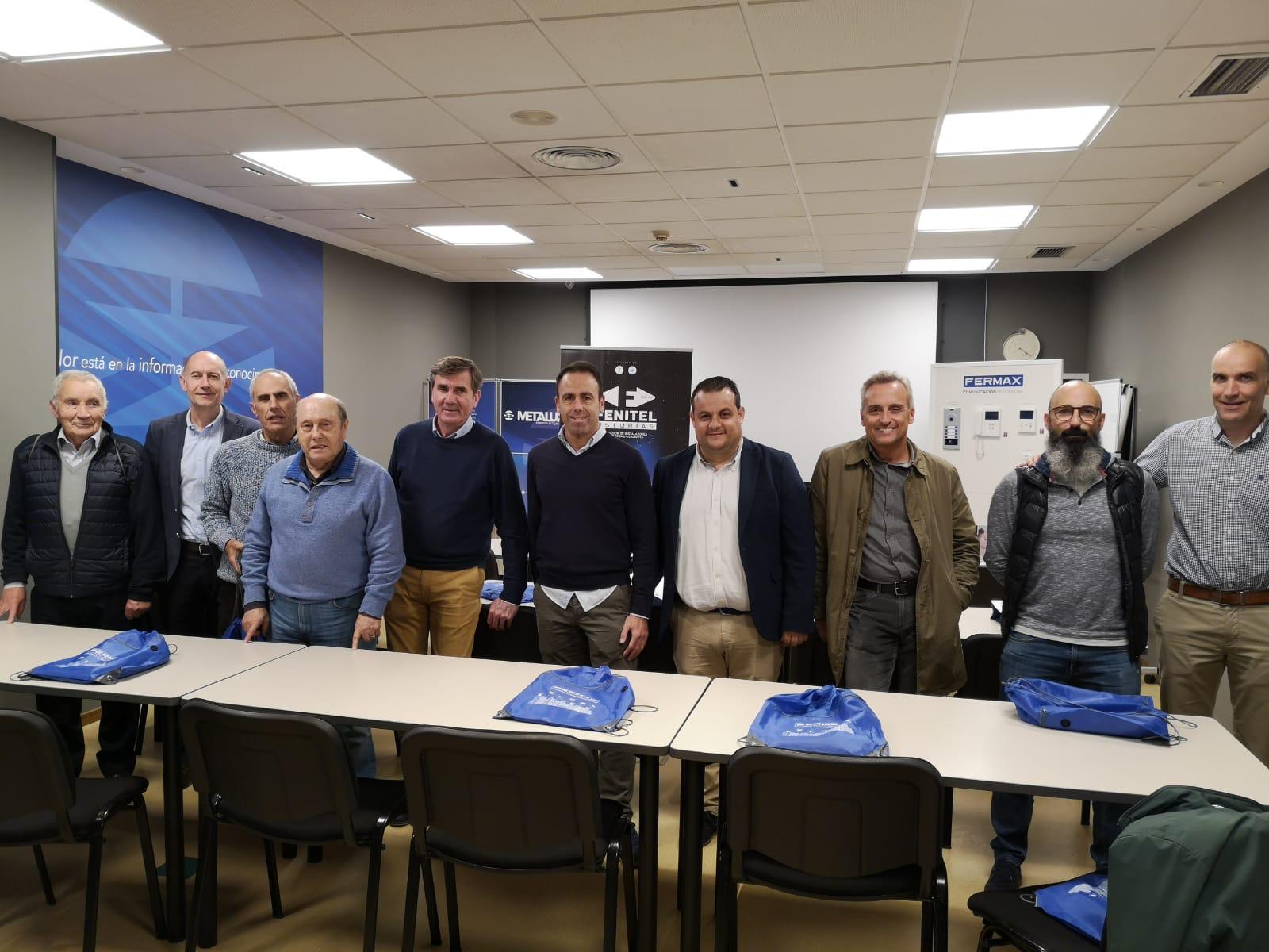 Éxito de presentación de las  últimas novedades de FERMAX en Asturias 1 Los asociados de Fenitel Asturias han sido invitados a la jornada de FERMAX que se celebró el pasado el 30 de octubre. La presentación organizada por Fenit