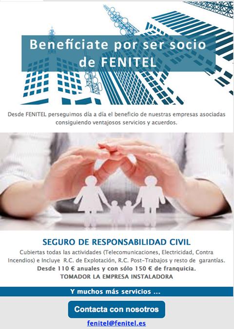 Beneficios para los socios de Fenitel Asturias